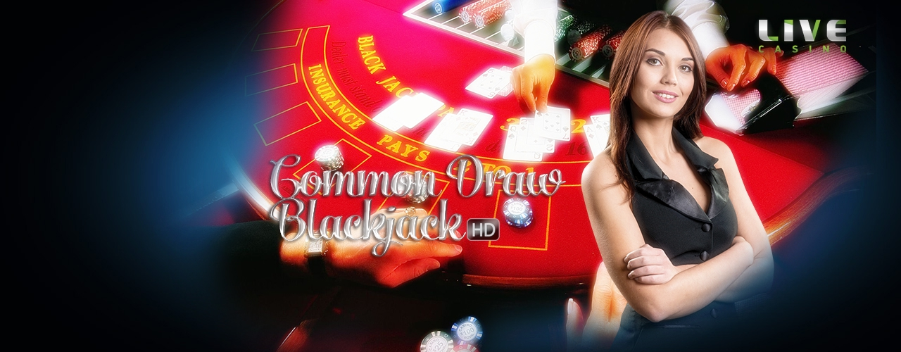 Yeni Live Casino Common Draw Blackjack