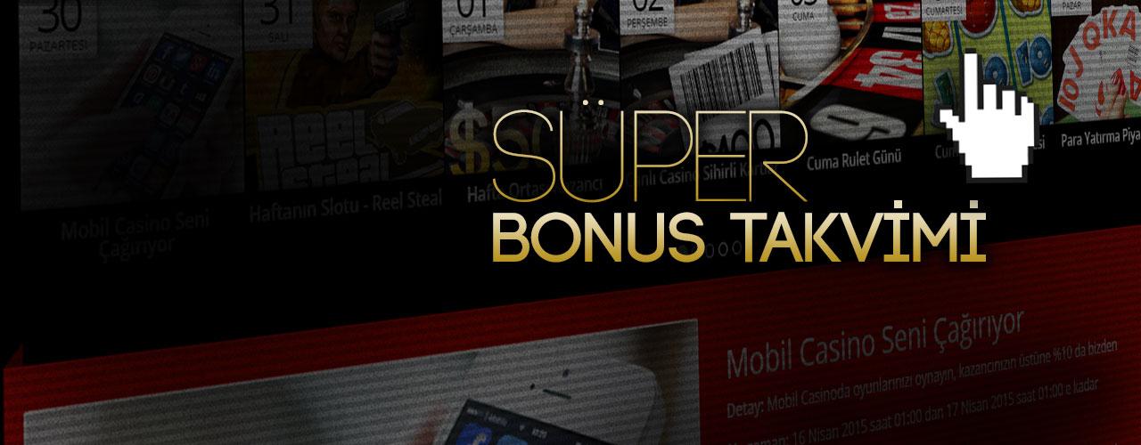 Süper Bonus Takvimi