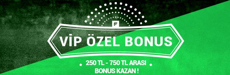 VIP Özel Bonusu