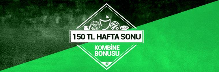 Hafta Sonu Futbol 75 TL Kombine Bonusu