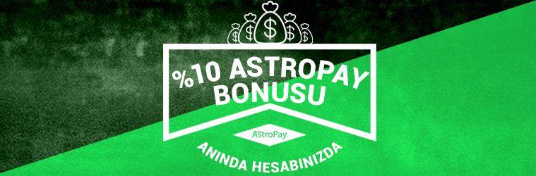 Astropay Bonusu