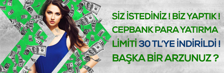 Cepbank - Para yatırma