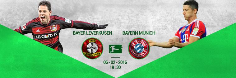 Bayer Leverkusen-Bayern Munich
