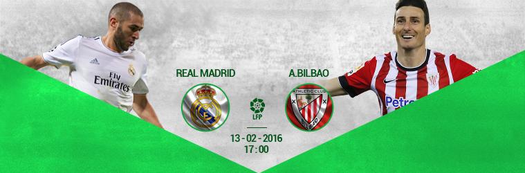Real Madrid – Atl. Bilbao