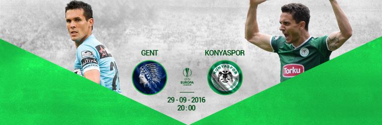 Gent- Konyaspor