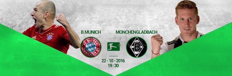 Bayern Munich – Gladbach