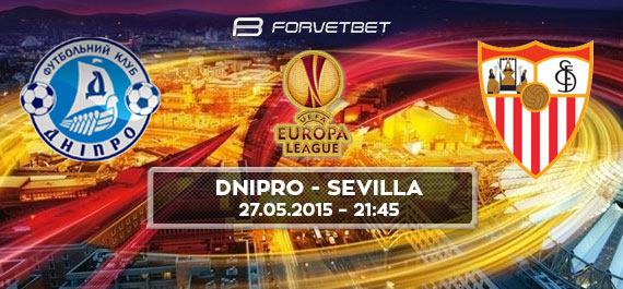 Dnipro Dnipropetrovsk - Sevilla