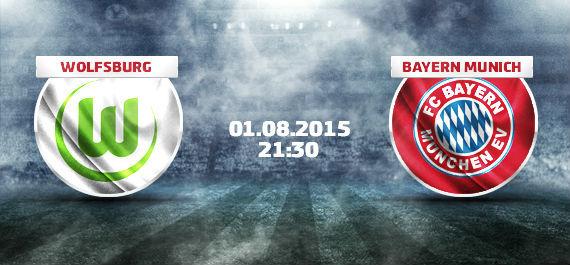 Wolfsburg - Bayern Munich